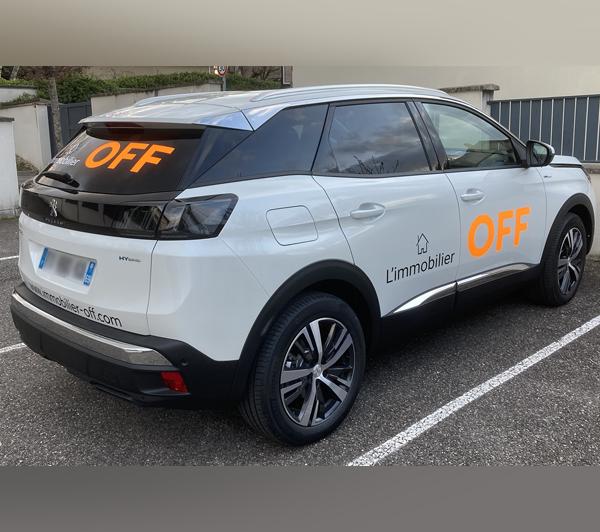 APIX Media - Covering voiture Lyon